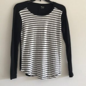 Tops - Madewell Tee Cotton Strip Whisper Size Small